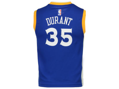 Golden State Warriors Kevin Durant Outerstuff Youth NBA Revolution 30 Jersey