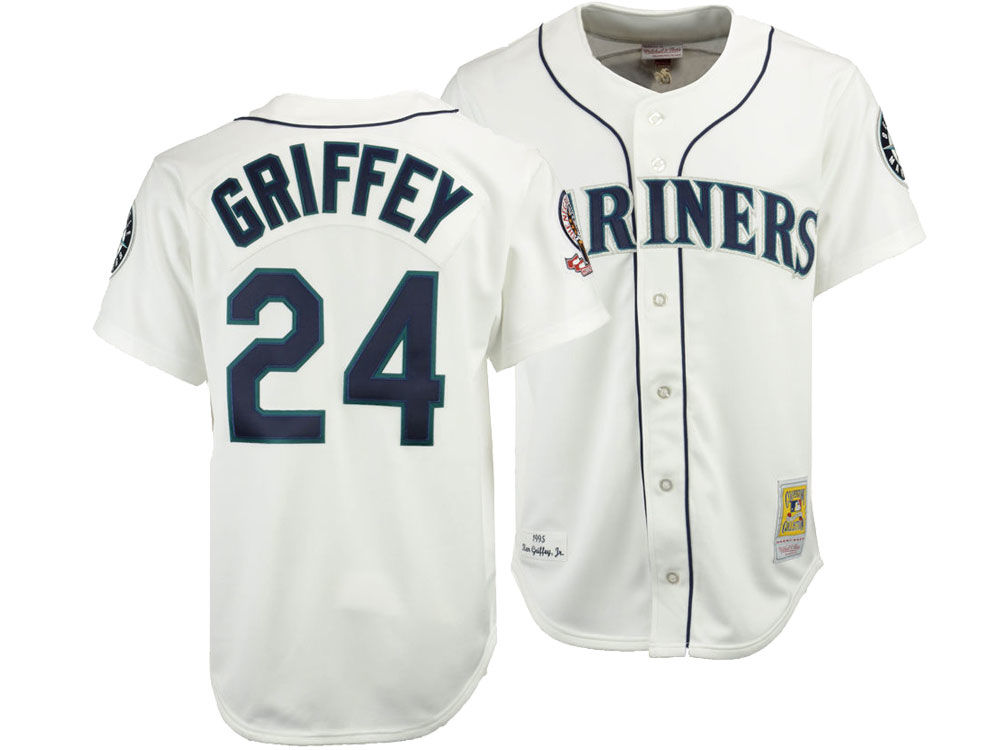 Seattle Mariners Ken Griffey Jr. Mitchell   Ness MLB Men s Authentic Jersey   2fb488324
