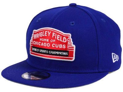 Chicago Cubs New Era MLB World Series Champ Marquee 9FIFTY Snapback Cap