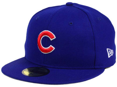 "Chicago Cubs New Era MLB ""W"" Sidepatch 59FIFTY Cap"