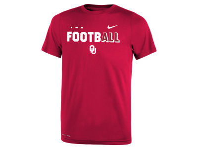 Oklahoma Sooners Nike 2017 NCAA Youth Legend Football T-Shirt