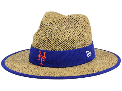 New York Mets New Era MLB Training Straw Hat