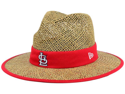St. Louis Cardinals New Era MLB Training Straw Hat