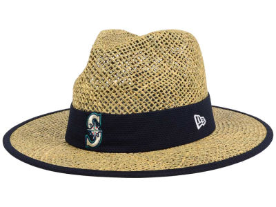 Seattle Mariners New Era MLB Training Straw Hat