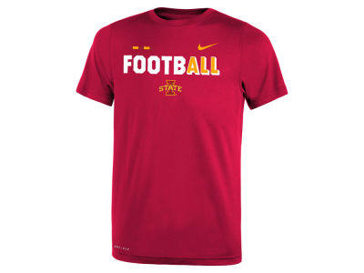 Iowa State Cyclones Nike 2017 NCAA Youth Legend Football T-Shirt