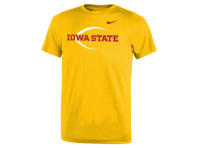 Iowa State Cyclones Nike NCAA Youth Legend Football Icon T-Shirt