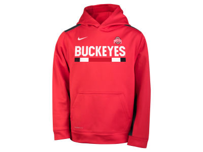 Ohio State Buckeyes Nike NCAA Youth Therma Color Block Hoodie