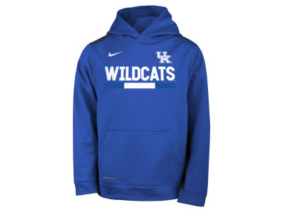 Kentucky Wildcats Nike NCAA Youth Therma Color Block Hoodie