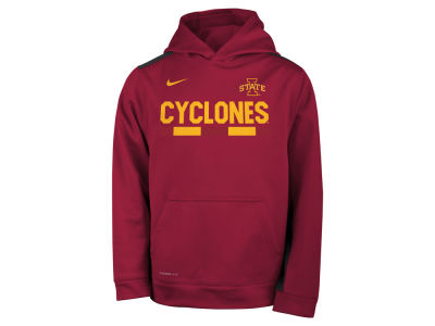 Iowa State Cyclones Nike NCAA Youth Therma Color Block Hoodie