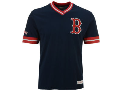 Boston Red Sox Mitchell & Ness MLB Men's Coop Overtime Vintage Top