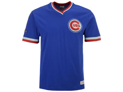 Chicago Cubs Mitchell & Ness MLB Men's Coop Overtime Vintage Top