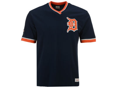 Detroit Tigers Mitchell & Ness MLB Men's Coop Overtime Vintage Top
