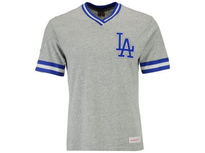 Los Angeles Dodgers Mitchell & Ness MLB Men's Coop Overtime Vintage Top