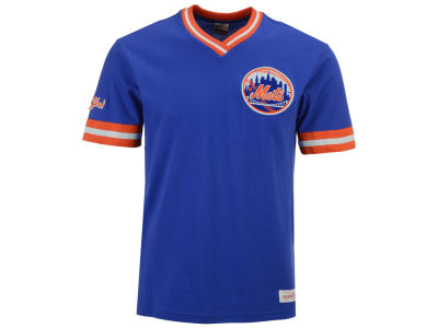 New York Mets Mitchell & Ness MLB Men's Coop Overtime Vintage Top