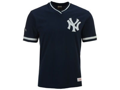 New York Yankees Mitchell & Ness MLB Men's Coop Overtime Vintage Top