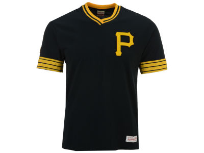 Pittsburgh Pirates Mitchell & Ness MLB Men's Coop Overtime Vintage Top