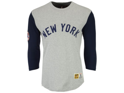 New York Yankees Mitchell and Ness MLB Men's Scoring Position Raglan T-Shirt