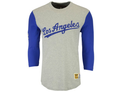 Los Angeles Dodgers Mitchell and Ness MLB Men's Scoring Position Raglan T-Shirt