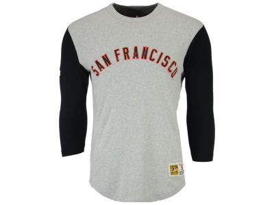 San Francisco Giants Mitchell and Ness MLB Men's Scoring Position Raglan T-Shirt