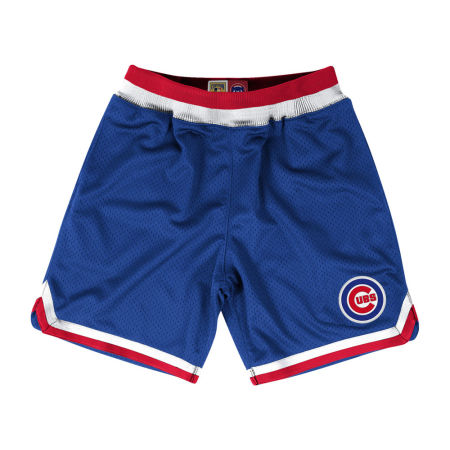 Chicago Cubs Mitchell & Ness MLB Men's Playoff Win Shorts