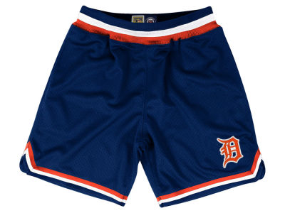 Detroit Tigers Mitchell & Ness MLB Men's Playoff Win Shorts