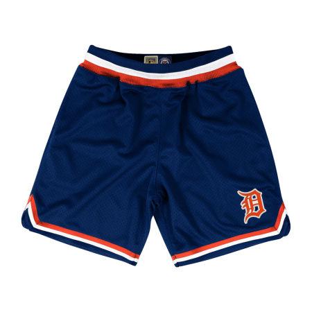 Detroit Tigers Mitchell & Ness MLB Men's Playoff Win Shorts