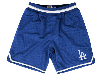 Los Angeles Dodgers Mitchell and Ness MLB Men's Playoff Win Shorts