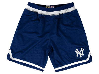 New York Yankees Mitchell and Ness MLB Men's Playoff Win Shorts