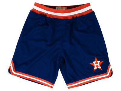 Houston Astros Mitchell and Ness MLB Men's Playoff Win Shorts
