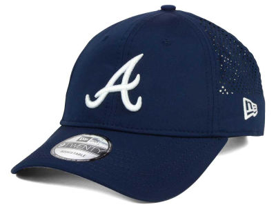 Atlanta Braves New Era MLB Perf Pivot 2 9TWENTY Adjustable Cap