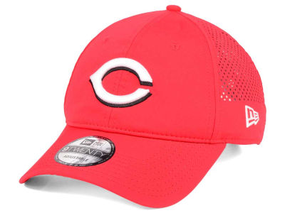 Cincinnati Reds New Era MLB Perf Pivot 2 9TWENTY Adjustable Cap