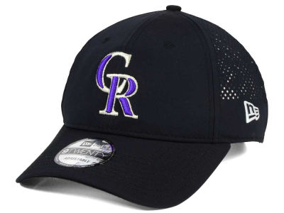 Colorado Rockies New Era MLB Perf Pivot 2 9TWENTY Adjustable Cap