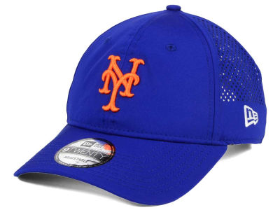 New York Mets New Era MLB Perf Pivot 2 9TWENTY Adjustable Cap