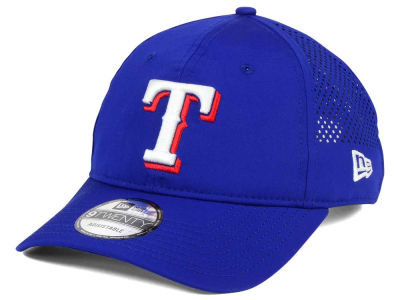 Texas Rangers New Era MLB Perf Pivot 2 9TWENTY Adjustable Cap
