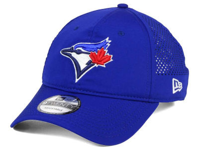 Toronto Blue Jays New Era MLB Perf Pivot 2 9TWENTY Adjustable Cap
