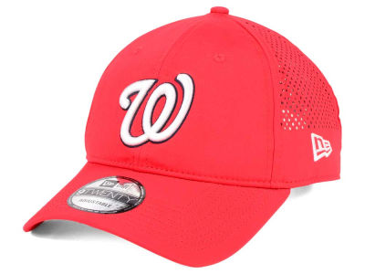 Washington Nationals New Era MLB Perf Pivot 2 9TWENTY Adjustable Cap