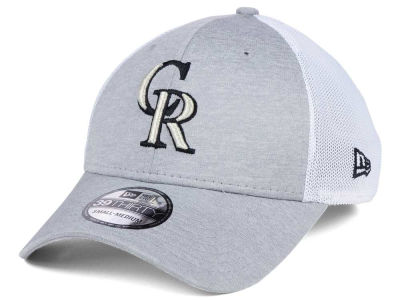 Colorado Rockies New Era MLB Tech Sweep 39THIRTY Cap