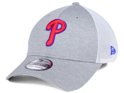 Philadelphia Phillies New Era MLB Tech Sweep 39THIRTY Cap