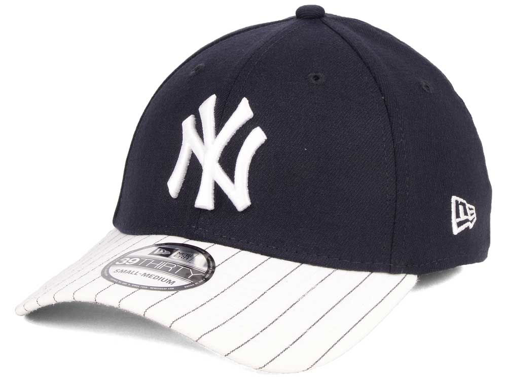 New York Yankees New Era MLB Pinstripe Classic 39THIRTY Cap  bf09b52b935