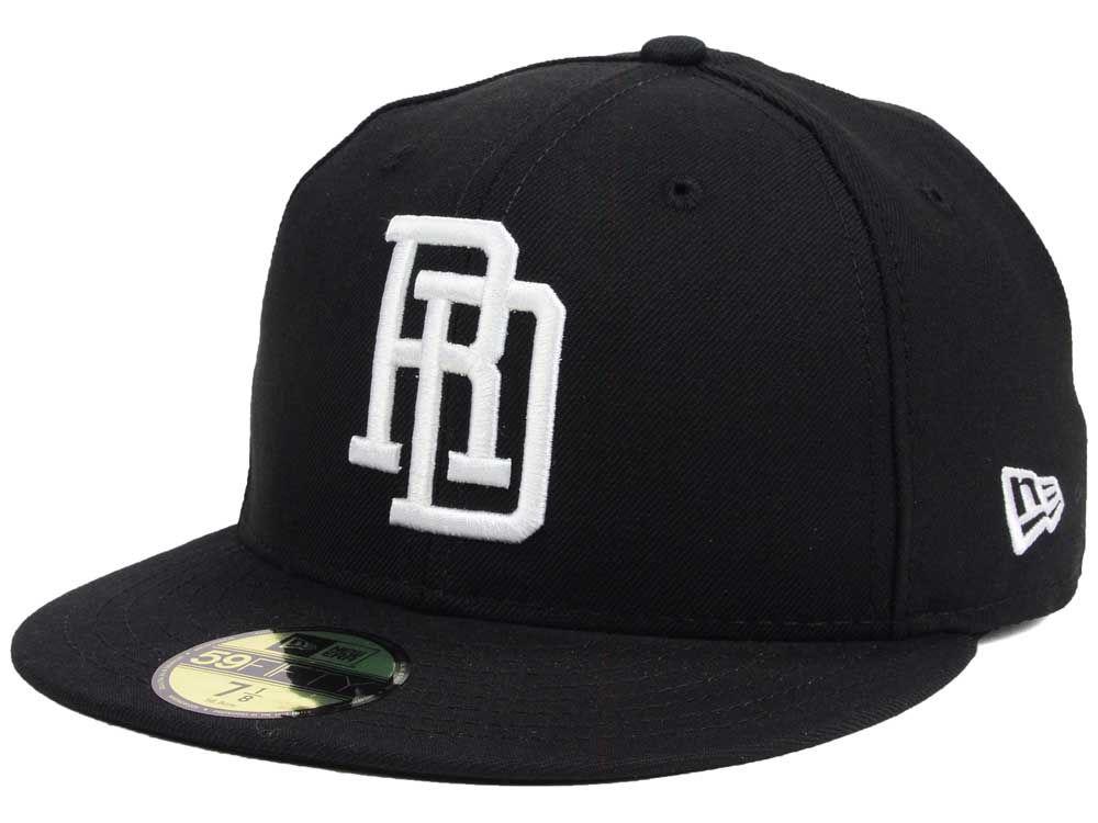 041ed4cc0ef Dominican Republic New Era 2016 World Baseball Classic Black White 59FIFTY  Cap