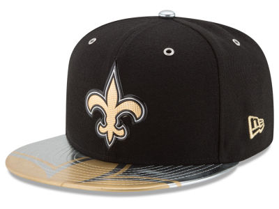 New Orleans Saints New Era 2017 NFL Draft Team Color 59FIFTY Cap