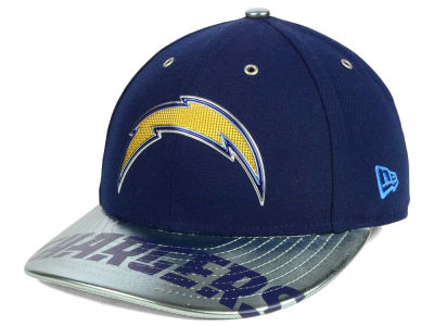 San Diego Chargers New Era 2017 NFL Low Profile Draft 59FIFTY Cap