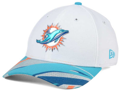 Miami Dolphins New Era 2017 NFL Draft Fashion 39THIRTY Cap