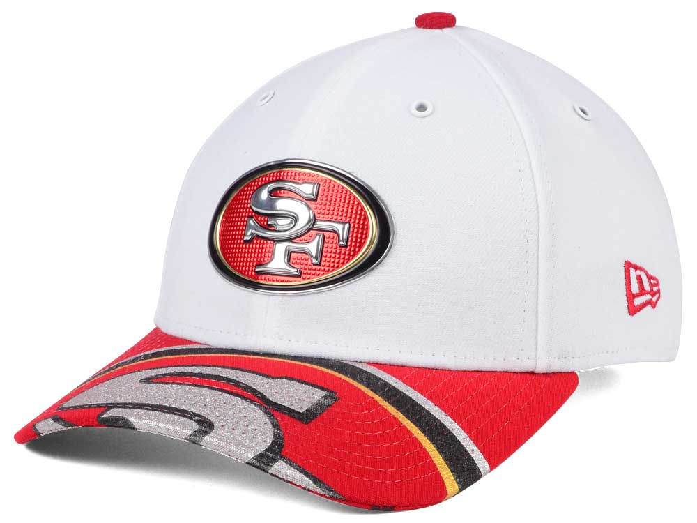 online store 5e260 45190 germany san francisco 49ers new era 2017 nfl draft fashion 39thirty cap  95e11 c242e
