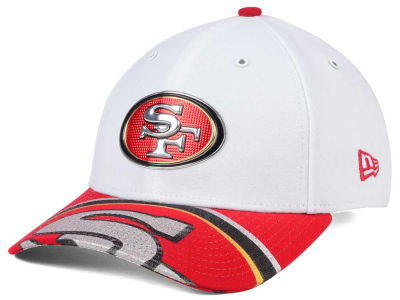 San Francisco 49ers New Era 2017 NFL Draft Fashion 39THIRTY Cap