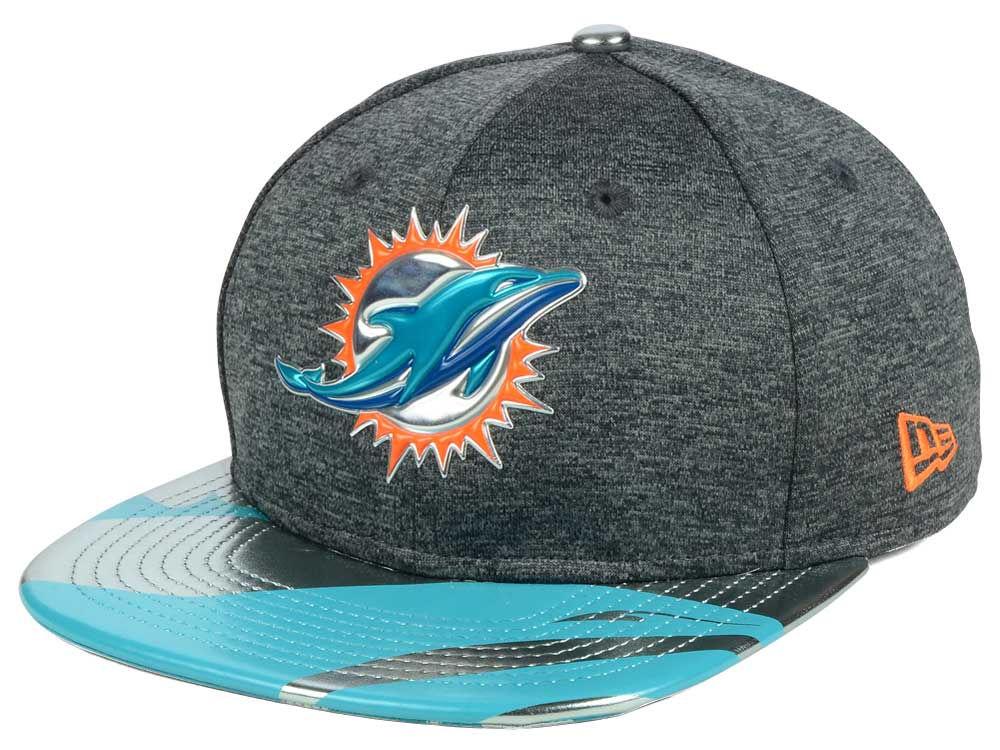buy popular c3df5 f3d8f ... uk miami dolphins new era 2017 nfl draft 9fifty snapback cap cbc23  99a35 ...