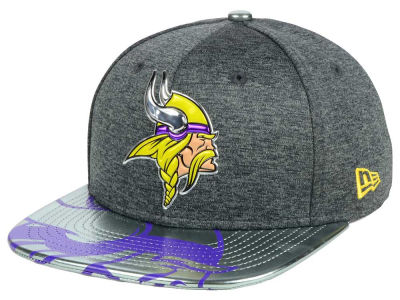 Minnesota Vikings New Era 2017 NFL Draft 9FIFTY Snapback Cap
