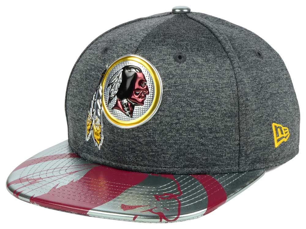 Washington Redskins New Era 2017 NFL Draft 9FIFTY Snapback Cap ... 3ed5b3c44