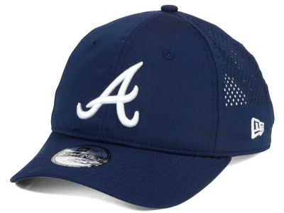 Atlanta Braves New Era MLB Jr Perf Pivot 2 9TWENTY Adjustable Cap
