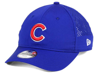 Chicago Cubs New Era MLB Jr Perf Pivot 2 9TWENTY Adjustable Cap